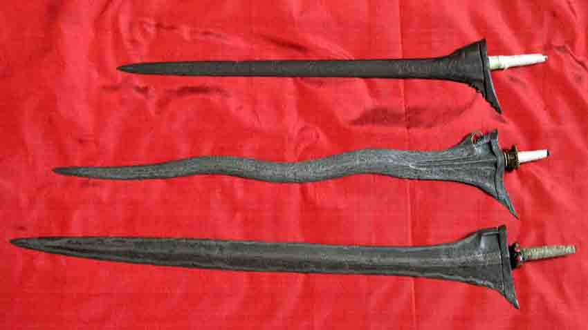 Keris from Sumatera Java and Bali